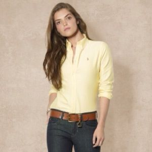 Ralph Lauren Slim Fit Oxford - Size 4
